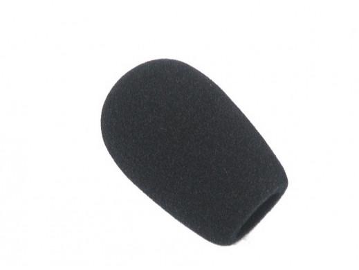Gąbka na mikrofon czarna