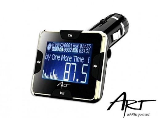 "Transmiter samochodowy FM 1.4"" LCD Art"