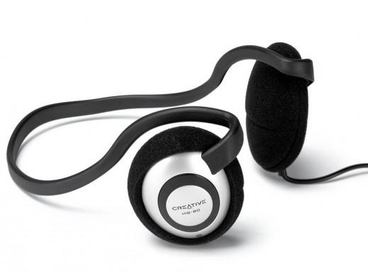 Słuchawki zagłowne Creative HQ-80 jack 3,5mm