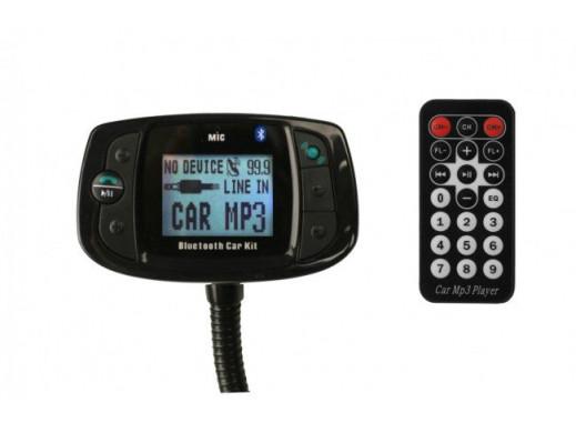 Transmiter z Bluetooth pilot na kierownice