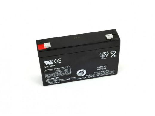 Akumulator żelowy 6V 7.2Ah  Powerbat
