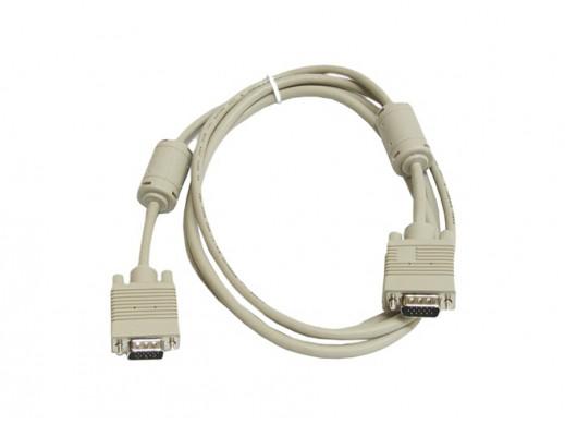Przewód, kabel do monitora SVGA 2,5m z filtrem