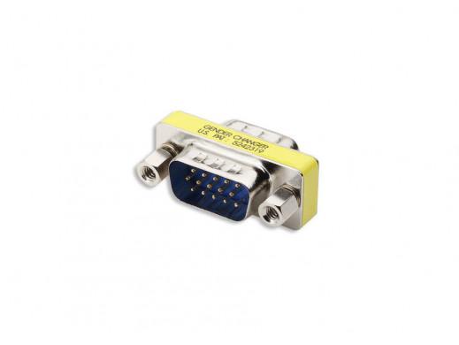 Łącznik DB15 VGA wtyk-wtyk