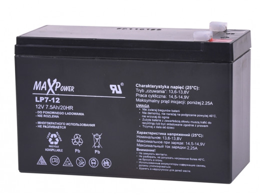 Akumulator żelowy 12V 7Ah Rebel