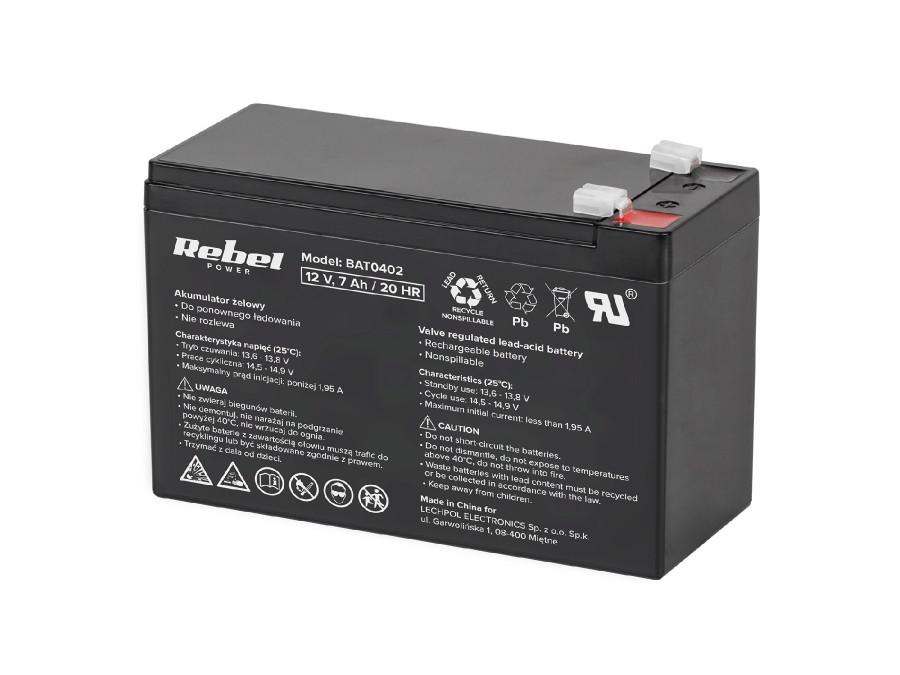 Akumulator żelowy 12V 7Ah...