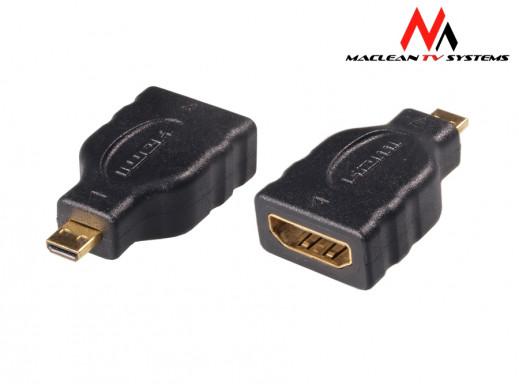 Adapter microHDMI - HDMI...
