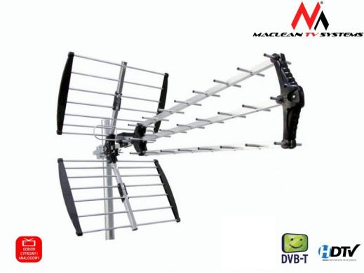Antena TV DVB-T zewnętrzna Maclean MCTV-975 Black