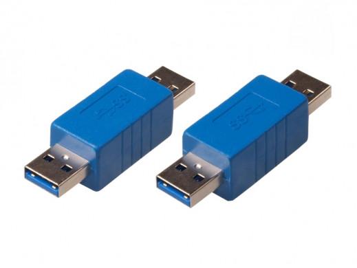 Przejściówka USB 3.0 AM -...