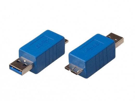 Przejściówka USB 3.0 AM - micro B Maclean MCTV-617
