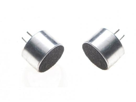 Mikrofon pojemnościowy EM-6022P 6x2,2mm -44dB z wyprowadzeniami