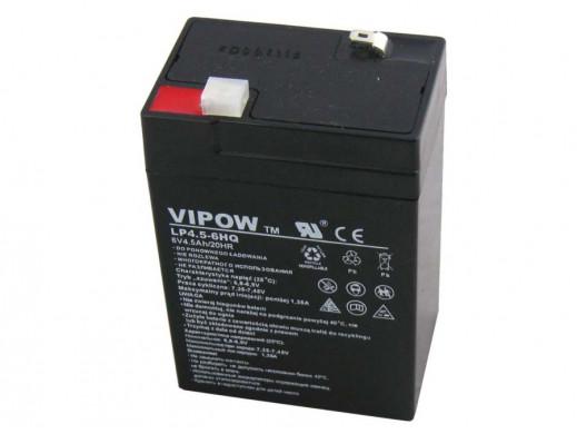 Akumulator żelowy 6V 4.5Ah HQ Vipow