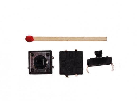 Mikroswitch Poziomy Kwadrat 12*12mm H-8mm TS-12T 4 pin