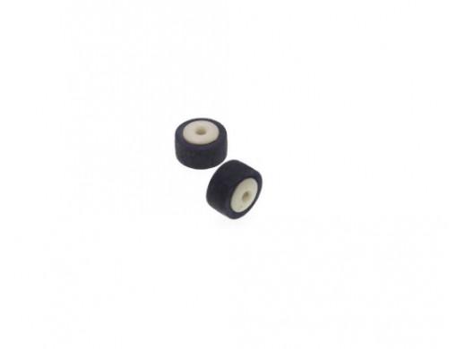Rolka magnetofonowa dociskowa średnica 10mm wysokość 7,4mm otwór na oś