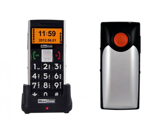 Telefon komórkowy dla seniora MM470BB Maxcom