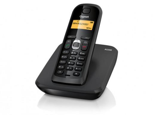 Telefon bezprzewodowy AS200 Gigaset Siemens