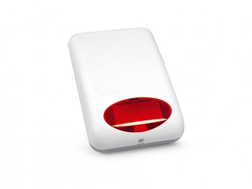 Sygnalizator SPL5020R Satel optyczno akustyczny możliwość podłączenia akumulatora