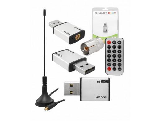 Tuner USB do DVB-T HD304...