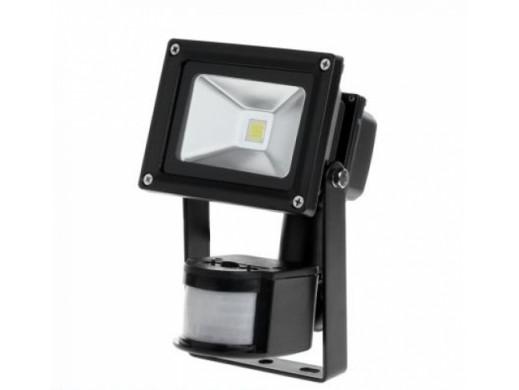 Reflektor LED 10 W z sensorem ruchu 6400K