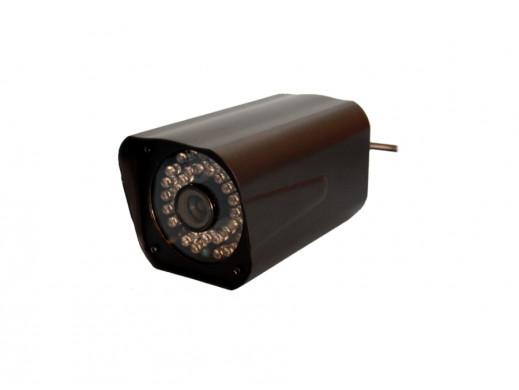 Kamera color C6138EF/IR36/HD SONY Effio obiektyw 6mm 650 linii
