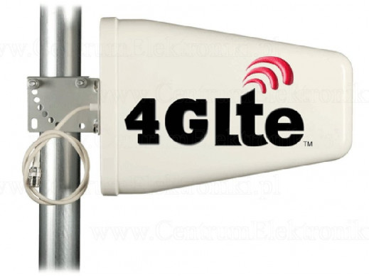 Antena 2G/3G/4G/LTE kierunkowa do modemu Huawei E398/ZTE