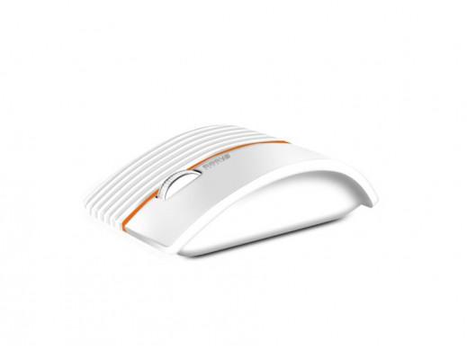 Myszka laserowa, bluetooth ET-9605 Fancy biała