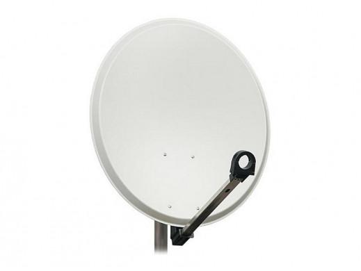 Antena sat 80cm LH biała