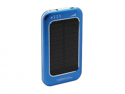 Ogniwo słoneczne 4.5-6.5V/1.2A z baterią Li-Polymerową 3600mAh SOL21 Velleman