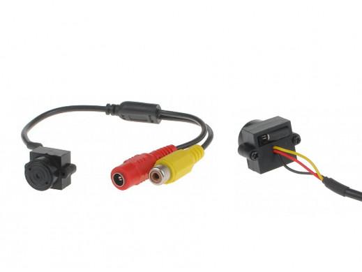 Kamera czarno biała Cmos-15 380TVL 5,5mm 0,1lux 9V 20mA wymiary 21 x 15 x 15 mm mini kamera