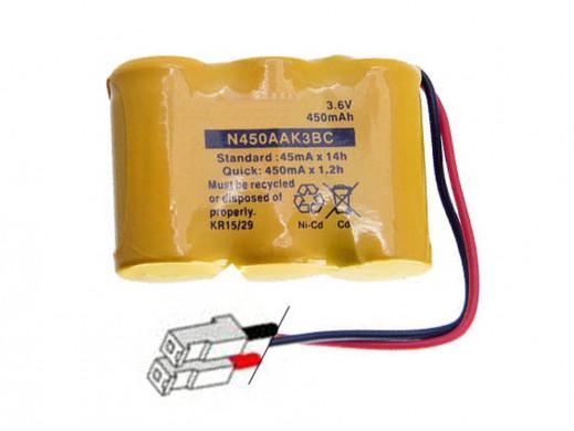 Akumulator T-107 3,6V/450mAh NiCd