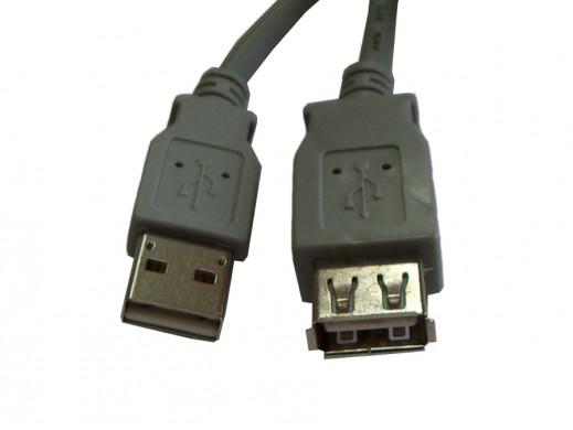 Przewód, kabel USB A-A...