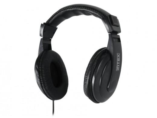Słuchawki nauszne z mikrofonem Mega Intex