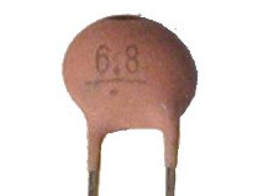 Kondensator Ceramiczny 6,8pF/50V
