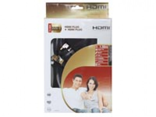 Przewód HDMI-HDMI 0.75m...