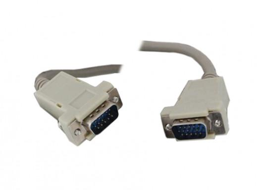 Przewód do monitora SVGA 5m wtyk-wtyk DSKSV02 Vitalco