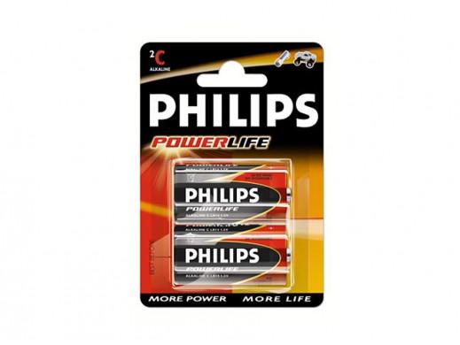 Bateria R-14 PowerLife Philips