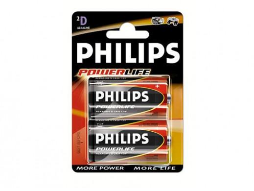 Bateria R-20 PowerLife Philips