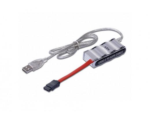 Adapter do USB to SATA z zasilaczem Gembird