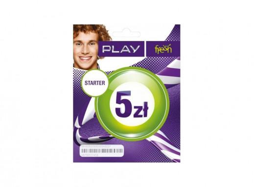 Zestaw Startowy Play 5 za...