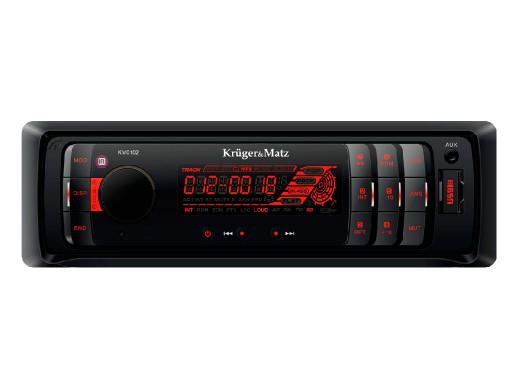 Radioodtwarzacz samochodowy MP3/USB/SD/MMC/AUX KM0102 Kruger&Matz