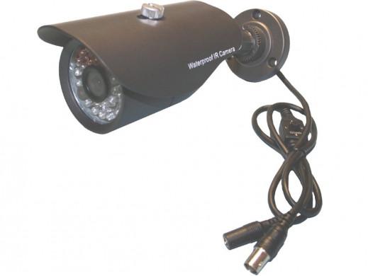 Kamera kolorowa zewnętrzna z podczerwienią C6738OIR30/LR-B 3,6mm 600linii