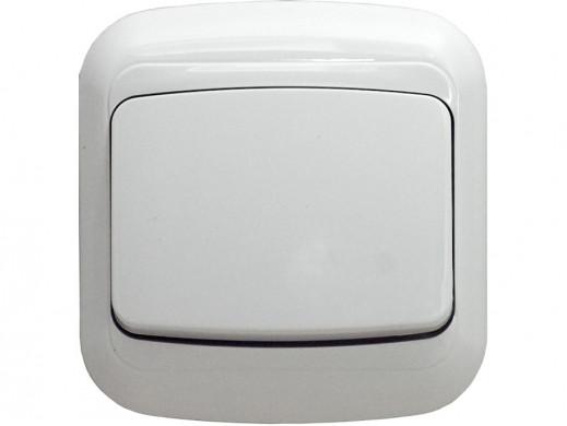 Włącznik pojedyńczy biały...