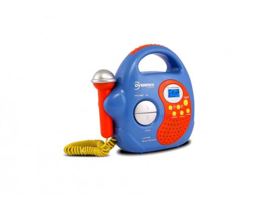 Zestaw karaoke z radiem MP3/USB/SD OV-KR-02 Overmax niebieski