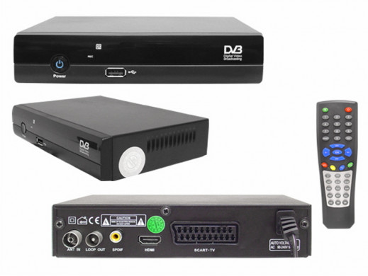 Tuner cyfrowy DVB-T HD T180