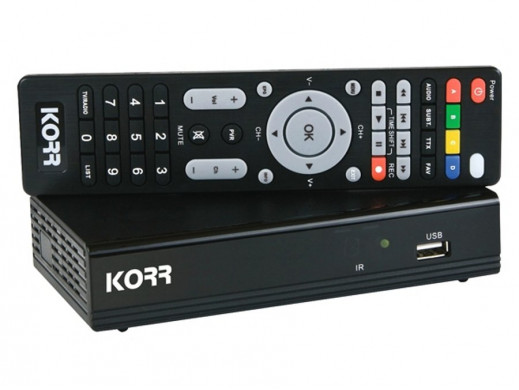 Tuner DVB-T, Media Player...