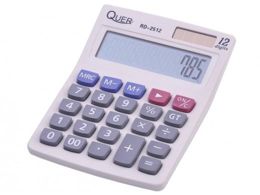 Kalkulator matematyczny RD-2512 Quer