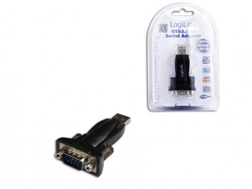 Adapter USB RS232 AU0002B LogiLink