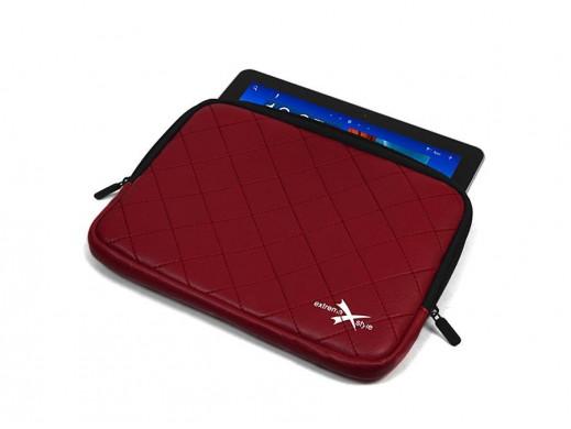 """Etui na tablet lub netbook 10.1"""" Extreme Style czerwone"""