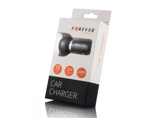 Ładowarka samochodowa Forever ze złączem micro USB 2 A HQ