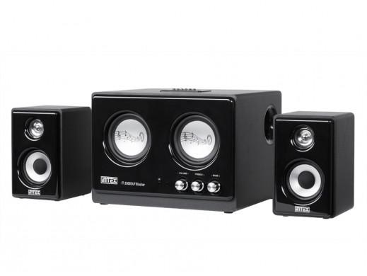 Komplet głośników 2.1 IT-3000SUF Bls FM/SD/USB Intex