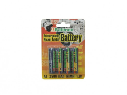 Akumulator R-06 2500mAh 1,2V Batimex